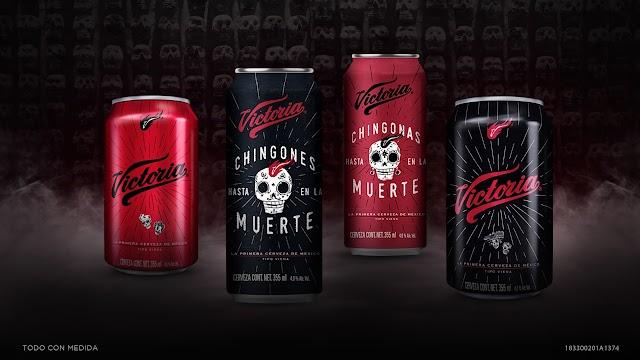 Cerveza Victoria lanza su nueva lata edición especial de Día de Muertos con realidad aumentada
