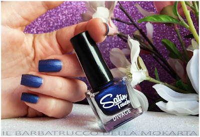 satin touche polish, smalto blu   -  DIVAGE  - StayGlam Collection Spring/Summer 2016