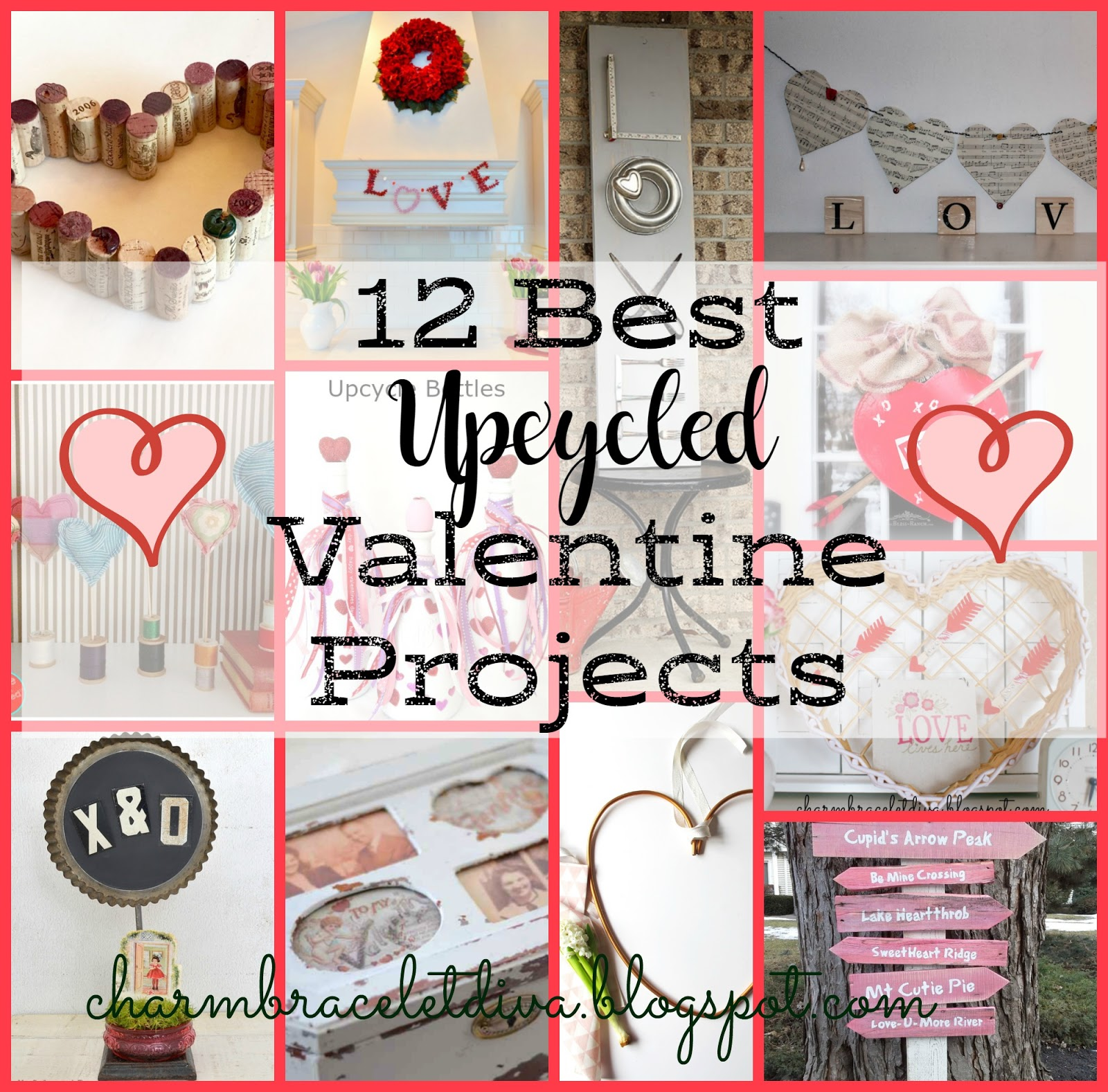Our hopeful home 12 best upcycled valentine 39 s day projects for Best upcycled projects