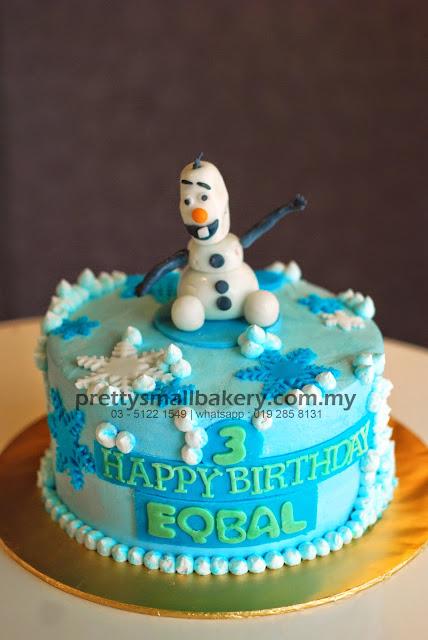 Kek Birthday Olaf Prettysmallbakery
