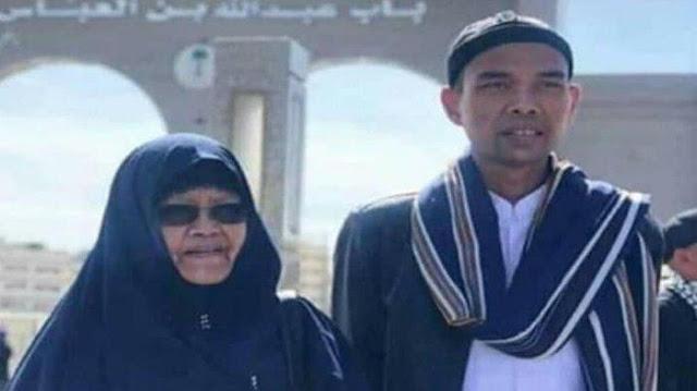 Innalillahi, Ibunda Ustadz Abdul Somad Meninggal Dunia