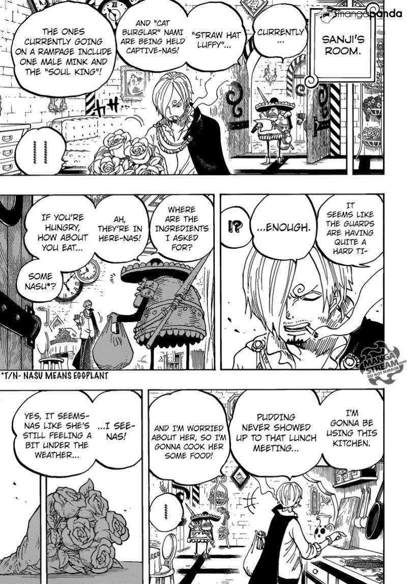 One Piece - Chapter 852