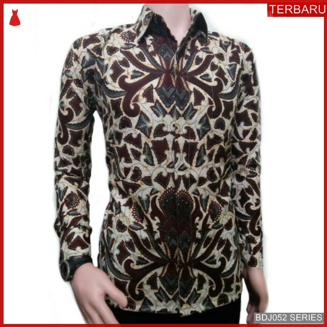 BDJ52K54 Kemeja Batik sogo remek 0080 Terbaru BMGShop