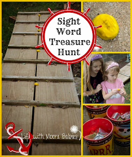 Send Your Kids on a Sight Words Treasure Hunt
