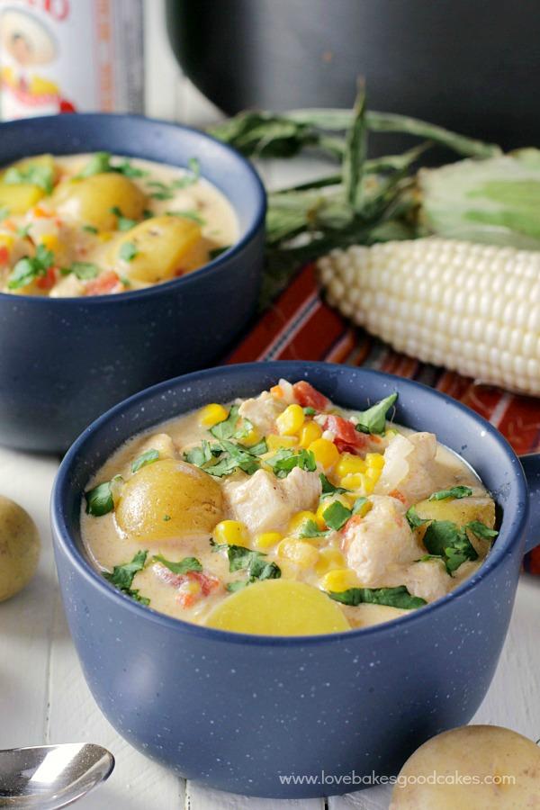 Mexican Chicken & Corn Chowder