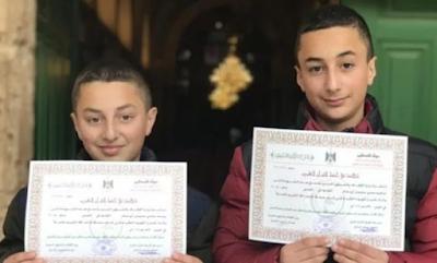 2 Anak Palestina Ini Hafal Al-Qur'an 30 Juz dalam Waktu 1,5 tahun