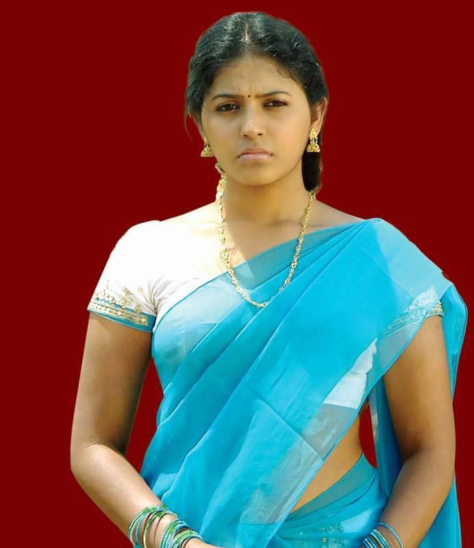 Actress Celebrities Photos: Anjali Latest Saree Pics From