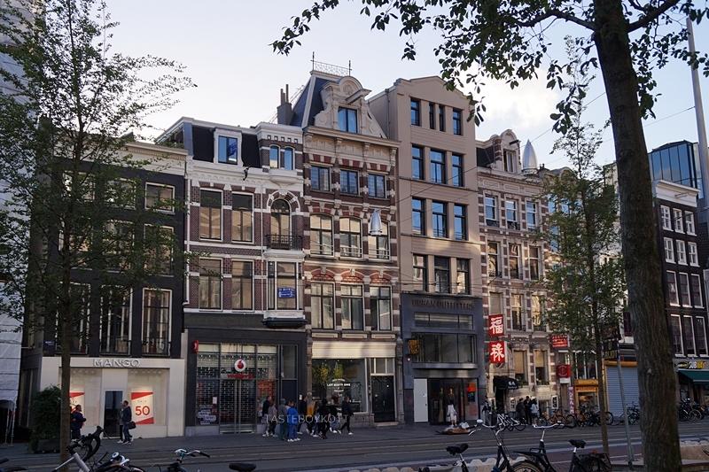 Amsterdam Shopping Straße Fassaden Häuser Sommerabend im Juli | Tasteboykott Blog