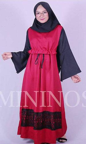 Red Cielo Dress
