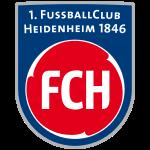 Logo Tim Klub Sepakbola 1. FC Heidenheim 1846 PNG