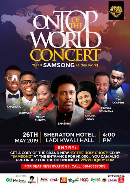 Samsong's OnTopofTheWorld Concert