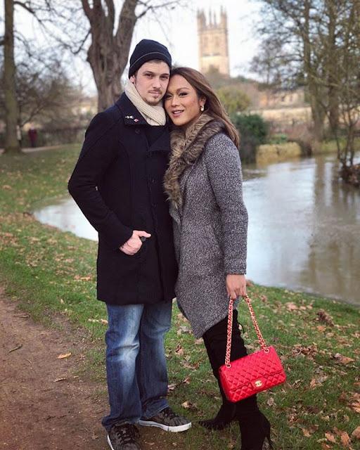 LOOK: Sweet Moments Of KaladKaren Davila And British Boyfriend.