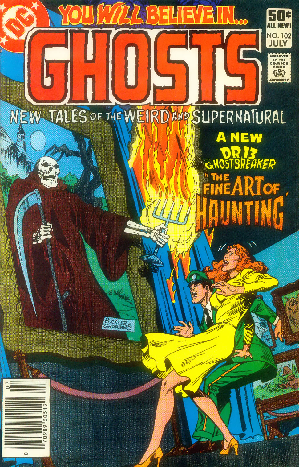 Read online Ghosts comic -  Issue #102 - 1