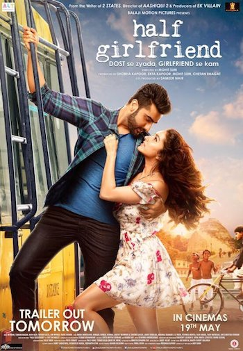 Half Girlfriend 2017 Hindi DTHRip x264 700MB