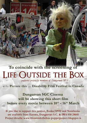 poster of the film Life Outside the Box