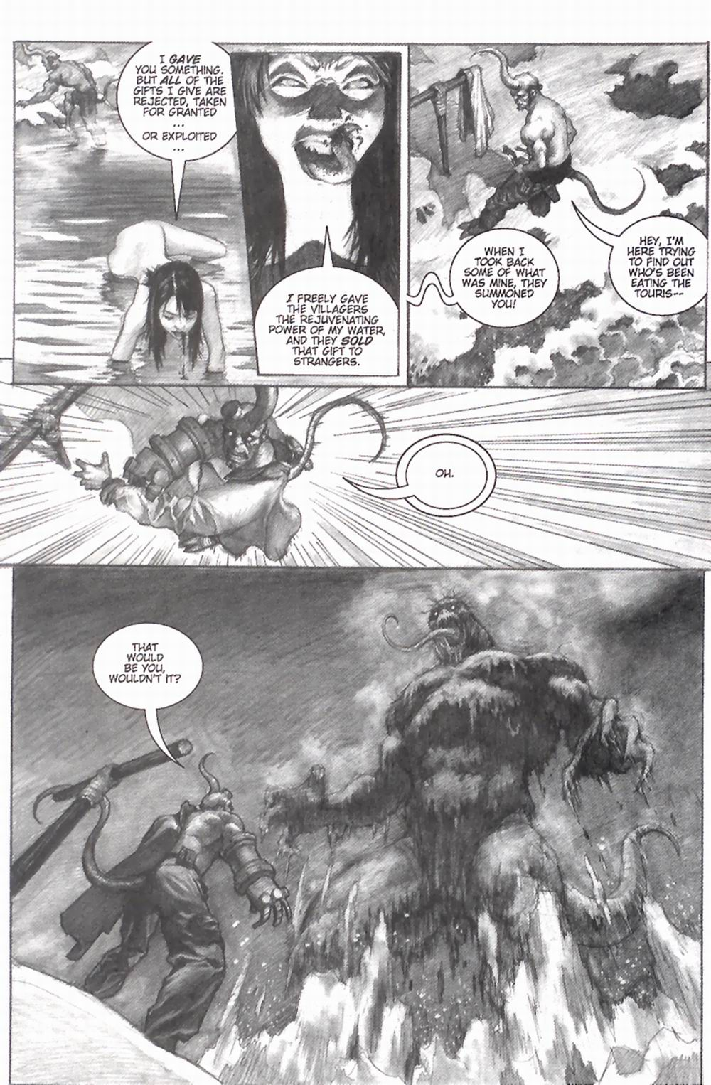 Read online Hellboy: Weird Tales comic -  Issue #2 - 16