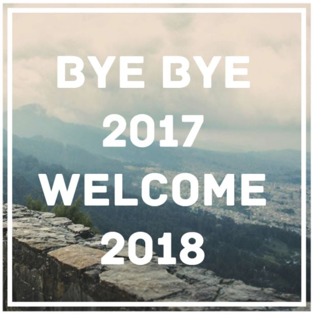 Bye Bye 2017 Hello 2018 Photos Images download