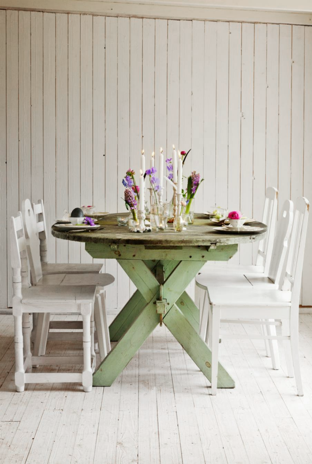 Blooming Ideas: Blooming Table Decoration ♥ Разцъфнала декорация за маса