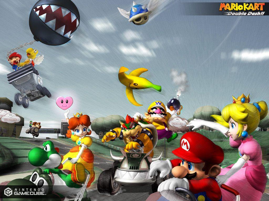 Mario Kart Double Dash U Iso Gamecube Nintendo Nes