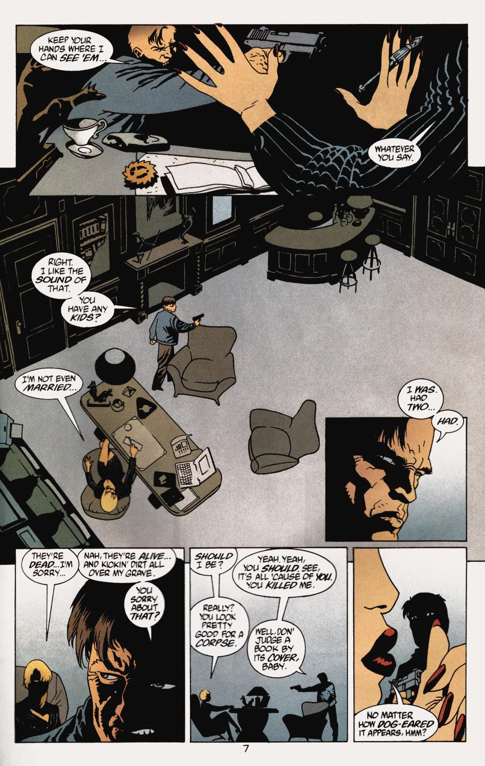 Read online 100 Bullets comic -  Issue #5 - 9