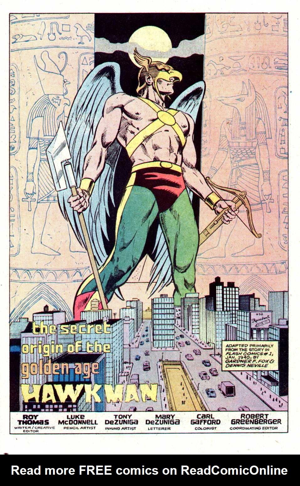 Read online Secret Origins (1986) comic -  Issue #11 - 18