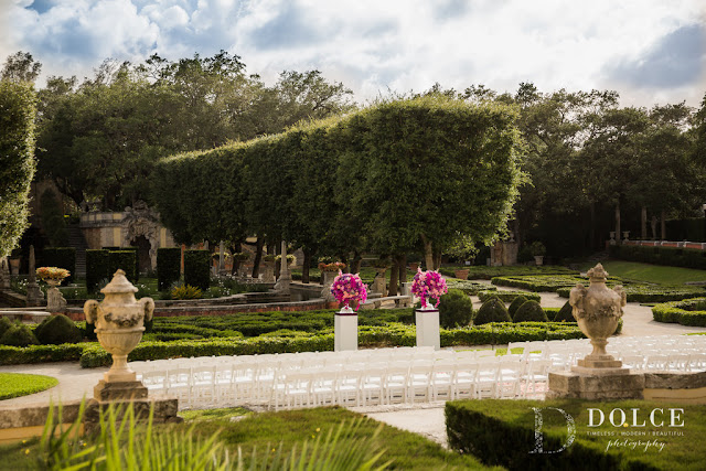 Vizcaya Museum Gardens Wedding
