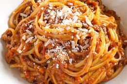 How to Make Bolognese with Linguine