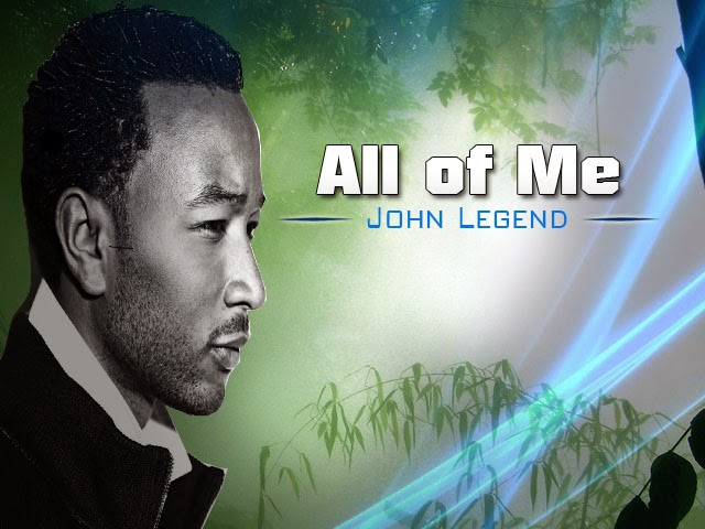 All Of Me John Legend Music Letter Notation With