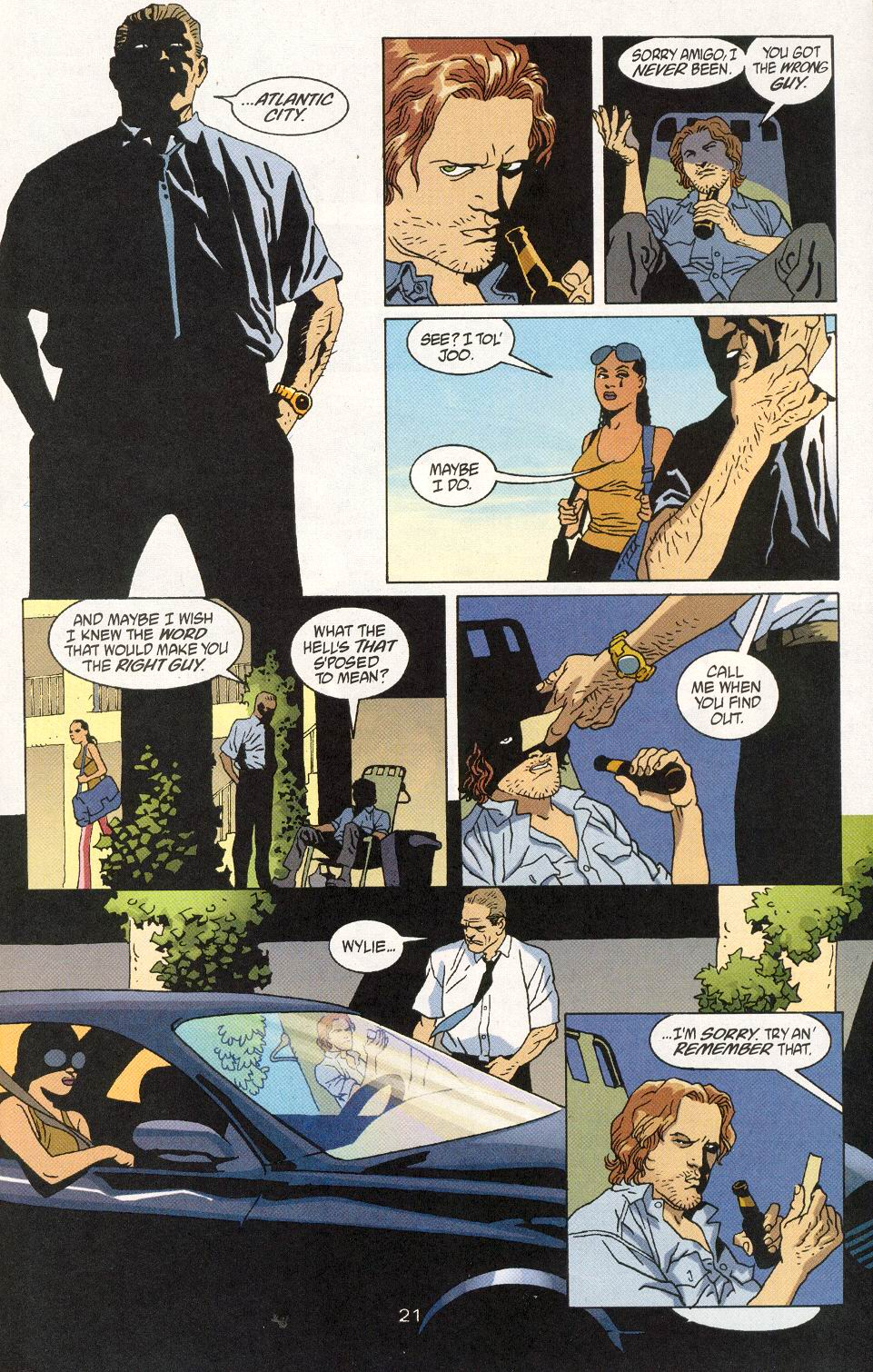 Read online 100 Bullets comic -  Issue #30 - 23