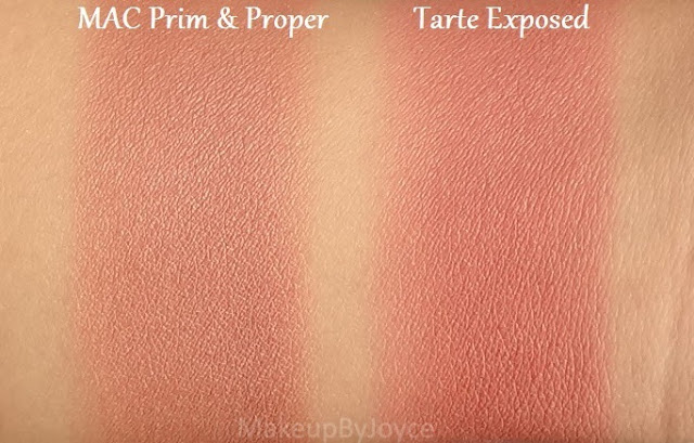 Tarte Exposed Swatch