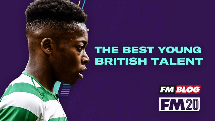 The best young British talent in Football Manager 2020