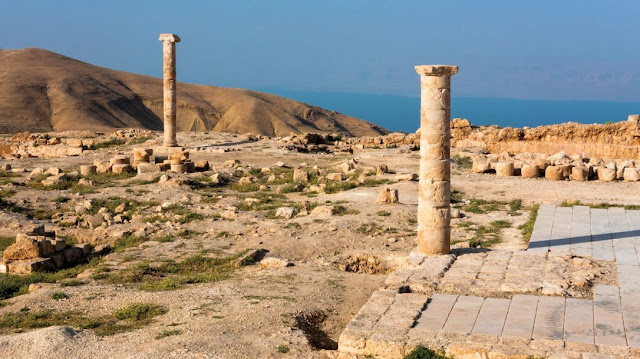 Monumental ritual bath unearthed at King Herod's Palace in Jordan