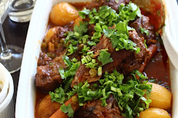Braised Lamb Shanks with Massamun Curry
