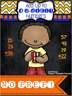 Adding up to 4 2-digit numbers