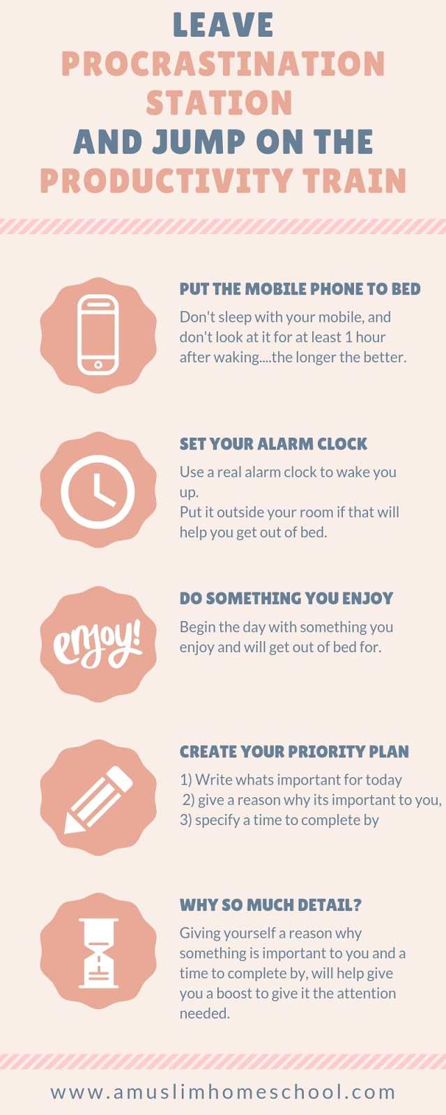 boost your productivity inforgraphic