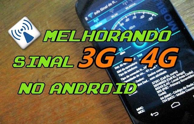 Como Melhorar o Sinal 3G ou 4G do Smartphone Android