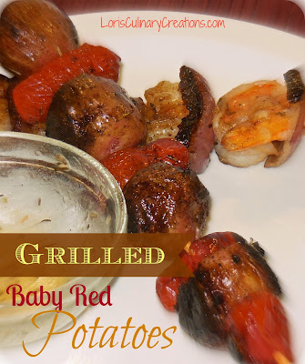Grilled Baby Red Potatoes