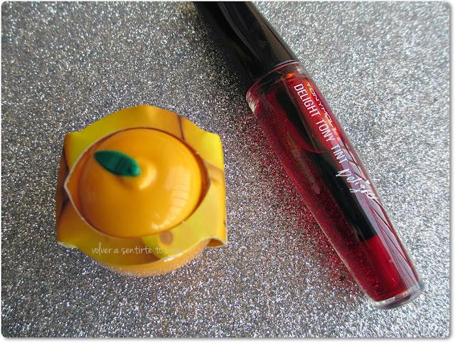 Tinte Labial de TonyMoly + Mascarilla de Limón Blanqueadora de Baviphat