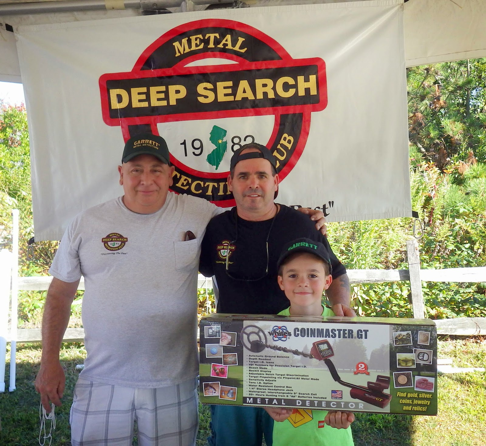 Deep Search Metal Detecting Club: ' Lucky Luke' Wins Not One