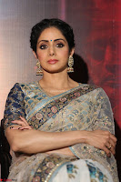 Sri Devi in designer saree stunning beauty at the launch of MOM movie Trailer~  Exclusive 053.JPG
