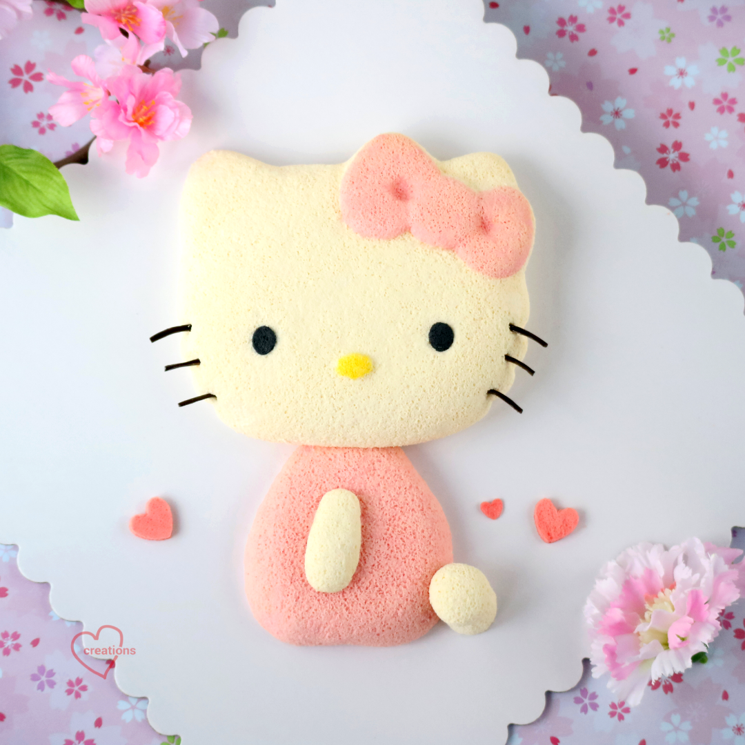 Loving Creations for You Hello Kitty Chiffon Cake