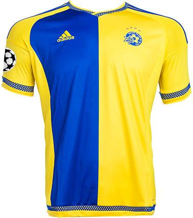 156ec3a28c3e7 Nueva camisetas de futbol 2016  nuevo Adidas Camiseta Maccabi Tel ...