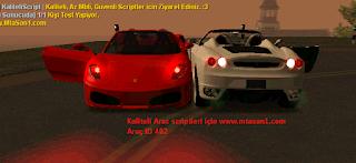 Ustu Acik Ferrari Arac Scripti