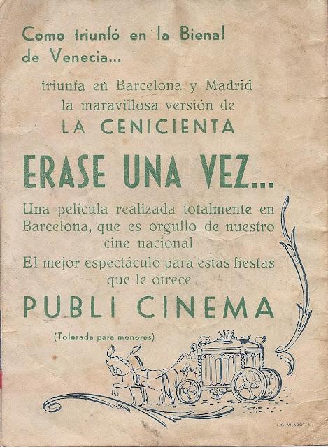 Programa de Cine - Erase una vez - Dibujos animados - Cine Infantil