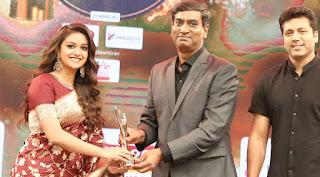 Keerthy Suresh at JFW Awards 2018