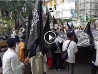 Tak Banyak Yang Tahu, Merinding Lihat Video Panji Rasul Dibentangkan di Tengah Kota Makassar