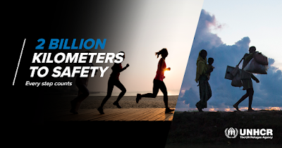 Get fit for a cause with UNHCR's 2 Billion Kilometers to Safety Campaign