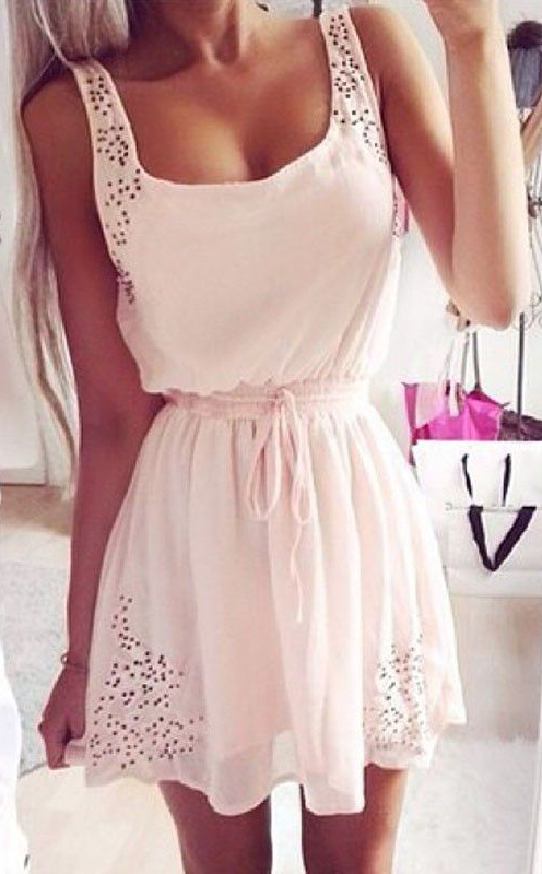 Fashion Solid Color Short Vest Tops Camisole #summer #fashion