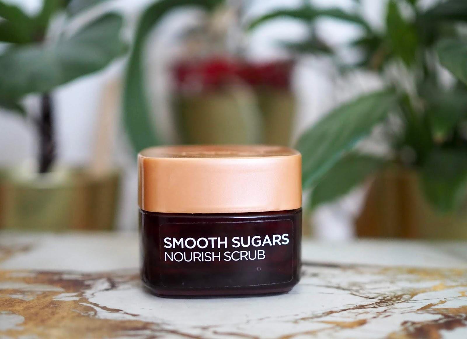 Smooth Sugar nourish scrub Loreal Paris skúsenosť
