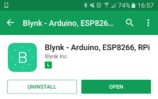 Blynk Play Store